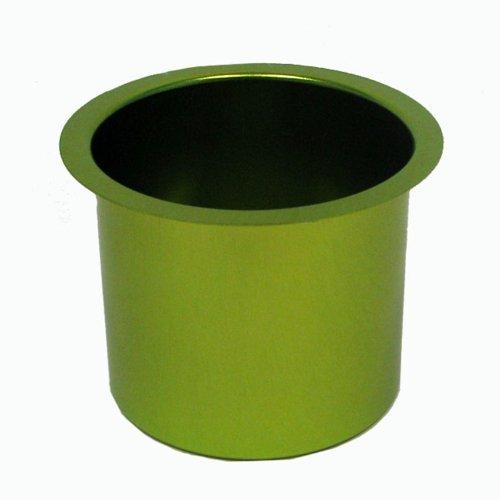 Trademark Poker Jumbo Aluminum Poker Table Cup Holder (Green) - 1