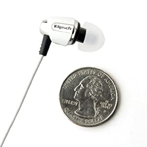 Klipsch IMAGE S4 In-Ear Enhanced Bass Noise-Isolating Headphones (White) (Discontinued by Manufacturer)