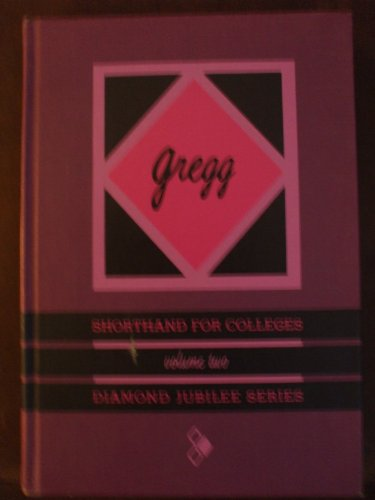 Yarsey Ebook Download Gregg Shorthand For Colleges Volume Two