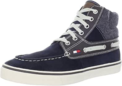 Tommy Hilfiger Men's Fairfax2 Sneaker,Dark Blue,7 M US