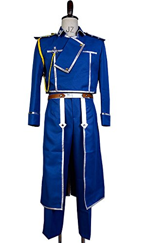Ya-cos Fullmetal Alchemist Colonel Roy Mustang Military Uniform