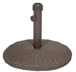 Wicker Brown Umbrella Base By La-z-boy Outdoor by La-Z-Boy Outdoor
