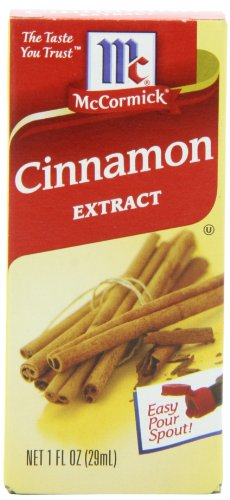 McCormick Cinnamon Extract, 1-Ounce Units (Pack of 6)