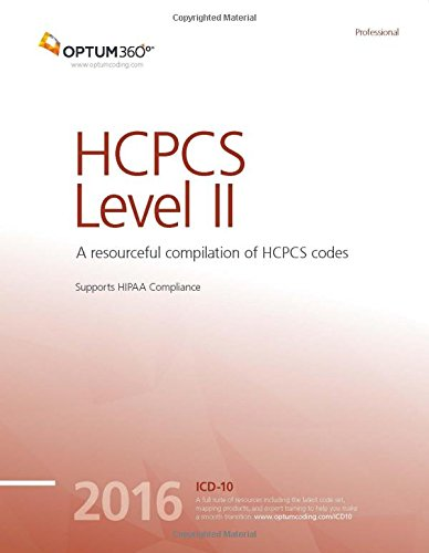 HCPCS Level II Professional 2016 (Softbound)