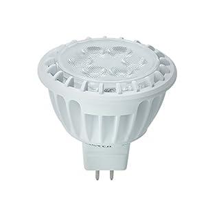 Kobi Electric K7L8 7-watt (50-Watt) MR16 LED 3000K Warm White Indoor Accent Light Bulb, Dimmable