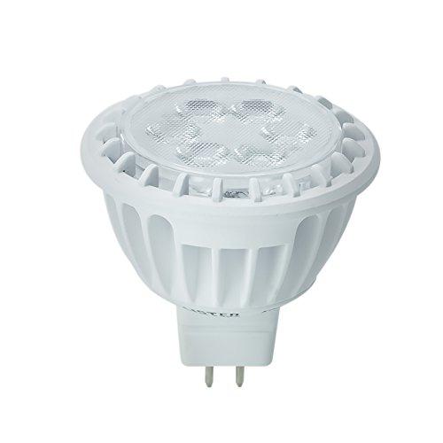 Kobi Electric K7L9 7-Watt (50-Watt) Mr16 Led 5000K Cool White Indoor Accent Light Bulb, Dimmable