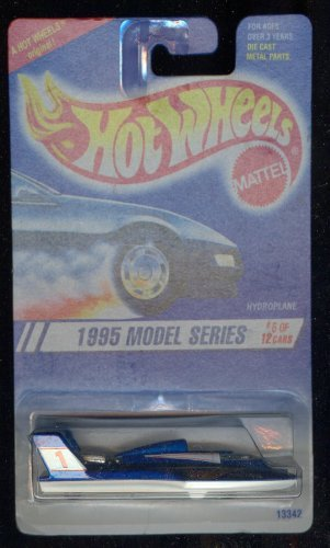 Hot Wheels 1995-6 of 12 Hydroplane Model Series 1:64 Scale - 1