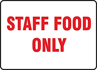 Images Of Staff Refrigerator Signs | just b.CAUSE