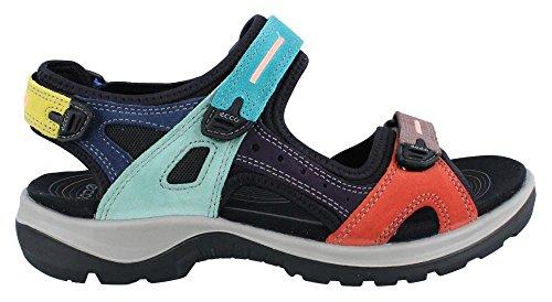 ECCO Women's Anniversary Yucatan Sport Sandal, Multicolor, 38 EU/7-7.5 M US