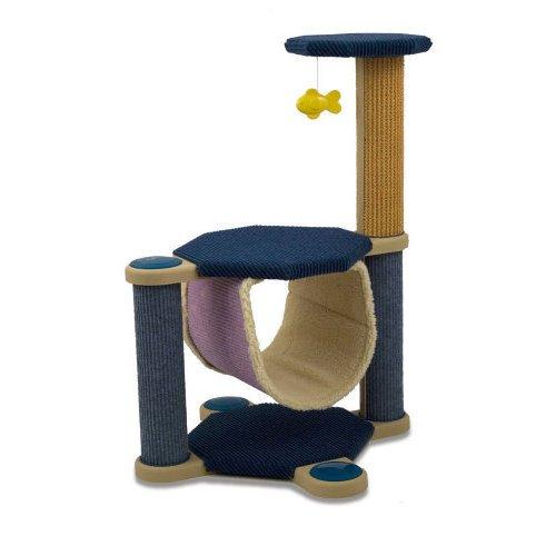 Cleo Oregon Cat Post/Climber, Scratcher, Scratching Post - Teal
