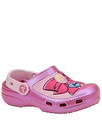 Crocs Girls' Creative Crocs Barbie Bow Clog Character Shoes