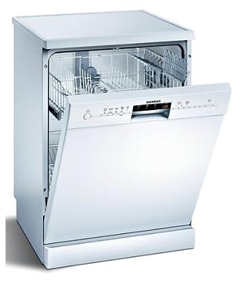 Siemens SN25M205EP lave-vaisselle - laves-vaisselles (Autonome, A, A+, Blanc, boutons, Rotatif, Auto 45-65 ºC, Économie, Intensif, Pré-lavage, Rapide)