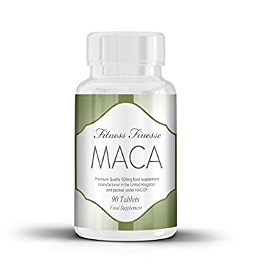 Maca Root Tablets 500mg Maca Root Extract is Said to Help Balance Hormones, Aid Sexual Function, Increase Energy, Improve Mood and Aid Menstrual Issues 90 Tablets by Volt Retail