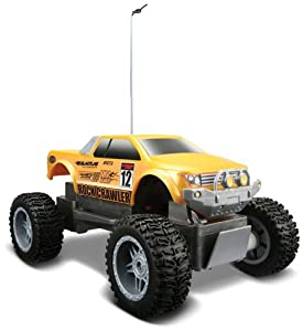 Maisto Rock Crawler Jr., Yellow