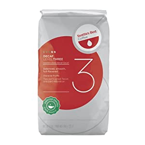 Seattle's Best Level 3 Decaf Ground Coffee, 12-Ounce Bags (Pack of 3) by Seattle's Best Coffee