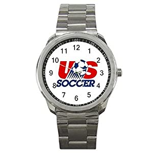 USA National Team Soccer Football2 9WLGO908 Men's Wristwatches Stainless Steel