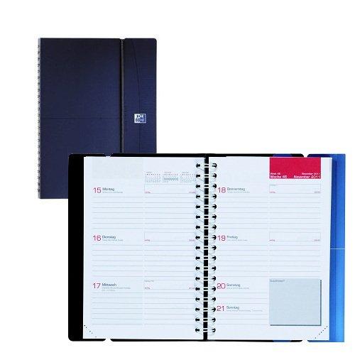 Oxford Jahreskalender 2013 Office Wochenkalender A6 farbig Dunkelblau