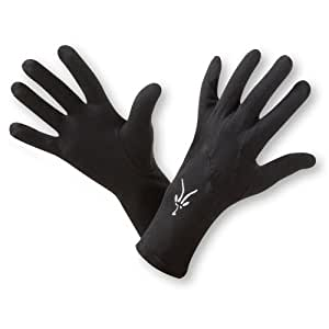 Ibex Unisex Glove Liner (Black,X-Small)
