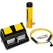 Enerpac SCL-302XA Cylinder and Pump Set RCS302 Cylinder with XA11 Air Pump