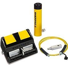 Enerpac SCL-302XA Cylinder and Pump Set RCS302 Cylinder with XA11 Air Pump