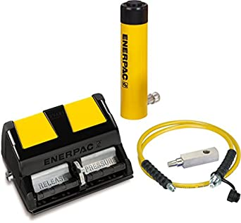 Enerpac SCL-302XA Cylinder and Pump Set with RCS302 Cylinder and XA11 Air Pump
