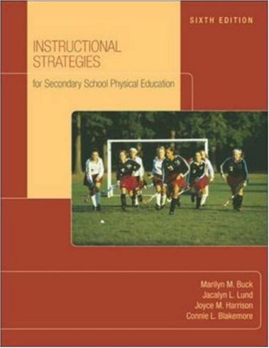Instructional Strategies For Secondary School Physical...