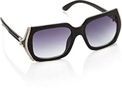GIO Collection Oversized Sunglasses (Black) (p12193)