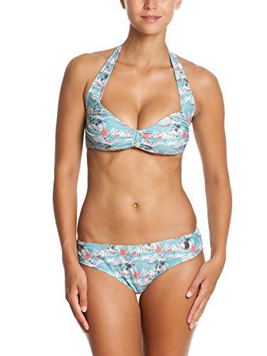 Vive Maria Happy Flower Bikini-Bikini-set Donna    Mehrfarbig (grün allover) 40