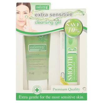Smooth E Baby Face Gel Extra Sensitive Cleansing Gel + Smooth E Cream. front-492688