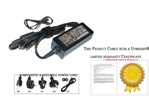 Upbright New 19V Ac Adapter For Acer Cromia Chromebook C7 C710 C710-2856 C710-2833 C710-2847 C710-2487 C710-2055 C710-2834 C710-2457 C710-2815 C710-2411 C710-2826 C710-2688; Ac700 Ac700-1099 Ac700-1090 3G Wi-Fi Ak.040Ap.024 Nu.Sh7aa.007 Notebook Pc Power S