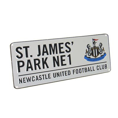 St James Park Street Sign
