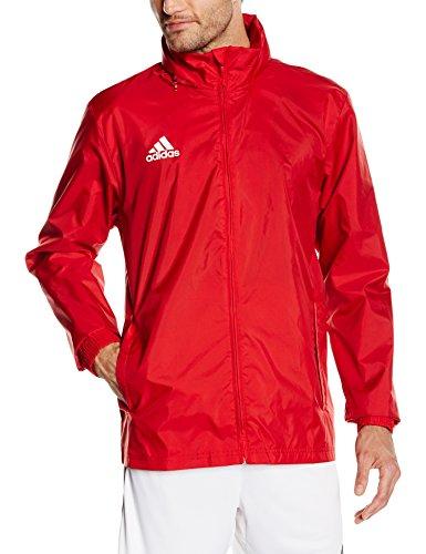 Adidas, Giacca a vento Uomo Core 15, Rosso (Power Red/White), M