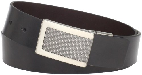 kenneth-cole-reaction-black-brown-reversible-cut-round-belt-w-textured-buckle-size-34