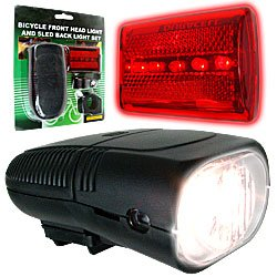 Bicycle Headlight and Taillight Set - Bicycle Accessories. Product Category: Sporting Goods > Accessories