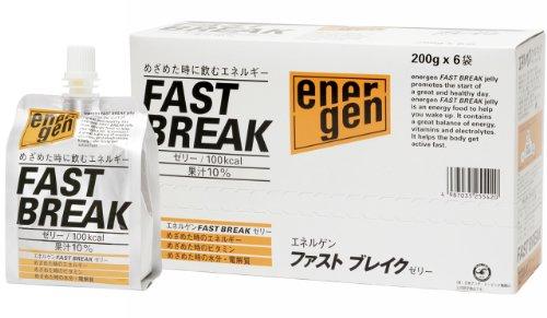 大塚エネルゲンFASTBREAKゼリー200gX6
