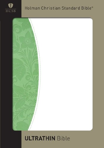 Image for HCSB UltraThin Bible (Green/White Duotone)