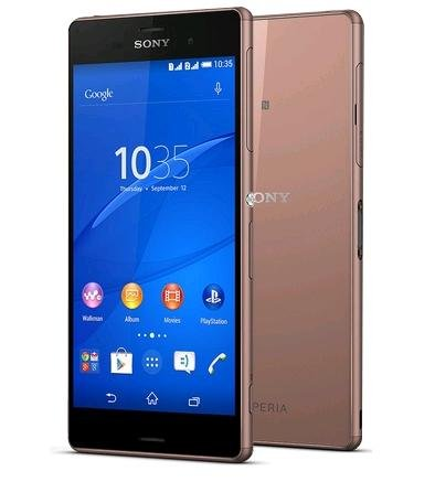 Sony Xperia Z3 LTE SIMフリー【並行輸入品】 (Copperコッパー)