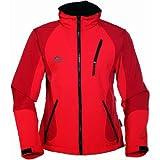 """COX SWAIN TITANIUM 3-Lagen Damen Softshell Jacke FOREST - 15.000mm Wassers�ule 10.000mm atmungsaktiv, Farbe: Red, Gr��e: Svon """"Cox Swain"""""""