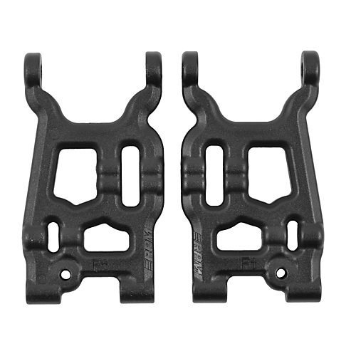 RPM Front A-Arms for The Losi Mini 8ight, Black - 1