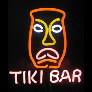 Tiki Bar Sculpture Neon Sign