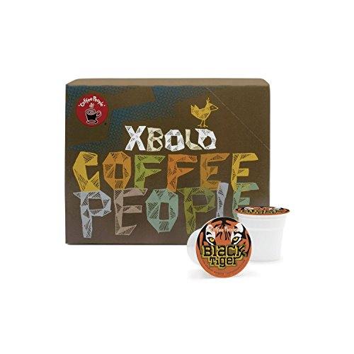 Coffee People Black Tiger K-Cup Portion Pack for Keurig K-Cup Brewers (Pack of 48) (Tiger Coffee compare prices)