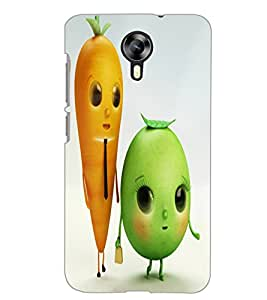 MICROMAX CANVAS XPRESS 2 E313 VEGETABLES Back Cover by PRINTSWAG