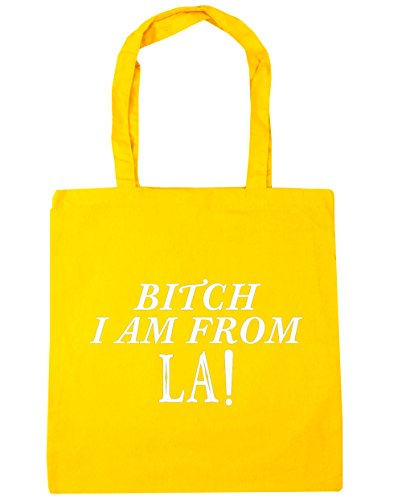 hippowarehouse-bitch-i-am-from-la-tote-shopping-gym-beach-bag-42cm-x38cm-10-litres