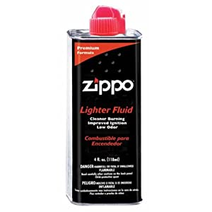 1 TIN OF ZIPPO FLUID 125ML UK DEL ONLY