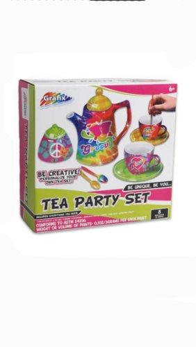 Tea Set Miniature Paint your own set porcelain - 1