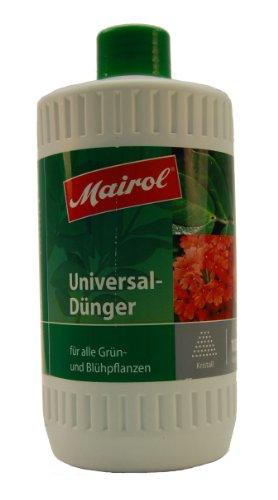 Mairol 1120 Universaldünger für alle Grün- und Blühpflanzen, Kristalle, 1.2 kg