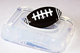 Clear-silicone jewelry American Football mold.Good for pendant,earrings,bracelet,art,craft. (1-64)