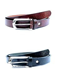 Tops Combo of 2 Leather Belts for Women
