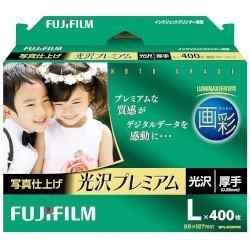 富士フイルム インクジェットペーパー画彩写真仕上光沢プレ L400枚 WPL400PRM