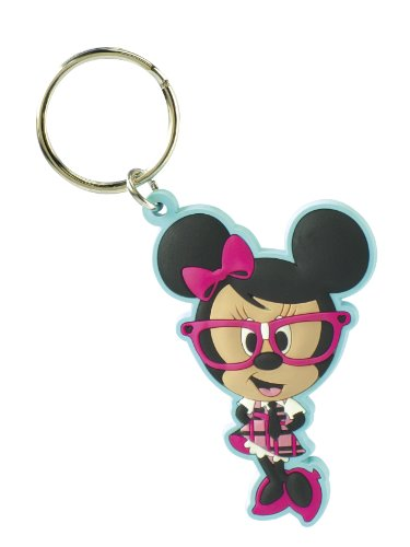 Disney Nerds Minnie Soft Touch Keyring